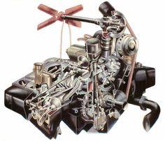 Jowett Javelin Engine