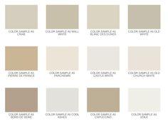 Neutral Color Palette 5 no-fail paint colours | the seagull, paint colors and paint