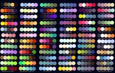 Colour Palettes no.2 by Striped-Tie.deviantart.com on @deviantART