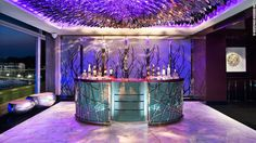 W HOTEL SINGAPORE: The vibe is nightclub meets playboy crash pad at W Sentosa Extreme Wow Suite.