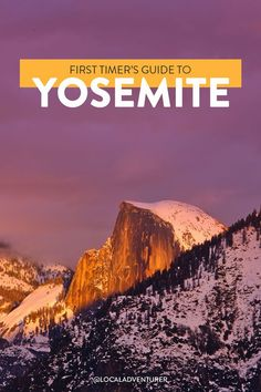 What to See in Yosemite National Park // Local Adventurer Sequoia National Park, Yosemite National Park, National Parks, Landscape Photography Tips, Scenic Photography, Night Photography, Landscape Photos, Visit California, California Travel