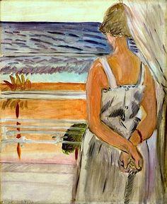 Henri Matisse, Beside the Window.