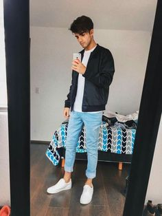 Lo amooo!!! Outfits Hombre, Outfit Goals, Funny Comics, My Boyfriend, Cute Guys, A Team, Justin Bieber, Youtubers, Adidas Sneakers