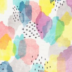 The Print & Pattern blog features cloud9 Fabrics by Holly deGroot