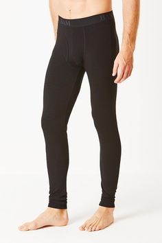 05c24edb38 Branded Bamboo Pouch Leggings - Black Black Leggings, Uk Shop, Black Jeans,  Bamboo