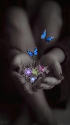 Splash of Color Butterfly Kisses, Butterfly Art, Butterfly Quotes, Morpho Butterfly, Blue Morpho, Butterfly Pictures, Butterfly Template, Butterfly Painting, Purple Butterfly