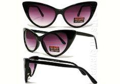 eBay Cat Eye Sunglasses $6.99 BIN. Like Tom Ford's, seen on the Kardashian sisters.