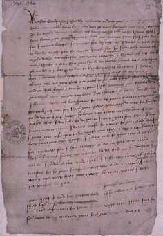 'Yours as long as life endures, Katheryn'     (Only surviving letter written by Katherine Howard, Henry VIII's fifth wife, written to Thomas Culpepper.)