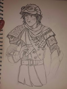 I did some complete bullshit for avataviking who wanted steampunk and I was 100% in the mood to draw something that made no sense at all XD. there is zero thought into this .. so I'm guessing whenever I get to apply some brain I can make it cooler and more Hiccup, even if steampunk. Dude, there was a time when I made up nonsense costumes. More than ten years ago?? Anyway here's a starter.