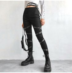 Edgy Outfits, Grunge Outfits, Cool Outfits, Hipster Outfits, Summer Outfits, Leggings Are Not Pants, Women's Leggings, Printed Leggings, Cheap Leggings