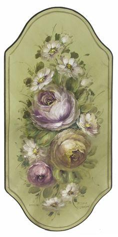 Jansen Art Online Store - Floral Plaque Painting, $200.00 (http://www.jansenartstore.com/floral-plaque-painting/)