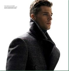 Edward Wilding by Karl Simone for Essential Homme. Fresh fashion inspiration daily, follow http://pinterest.com/pmartinza