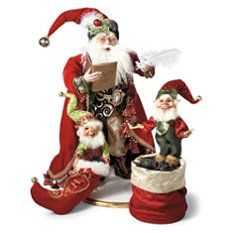 Frontgate - Mark Roberts Santa's Naughty List Figure