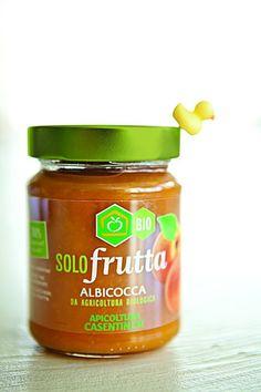 """Marmellata #bio """"Solo frutta"""" di Apicoltura casentinese #packaging #design #food"""