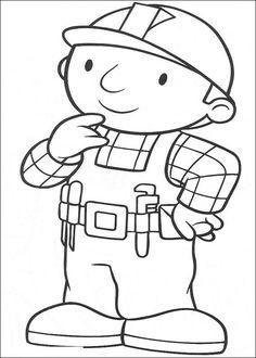 coloring page Bob the Builder Kids-n-Fun