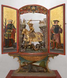 George altarpiece | Sebald Bock villages | by 1500