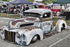 hot rod, muscle cars, rat rods and girls Rat Rods, Rat Rod Cars, Hot Rod Trucks, Ford Trucks, Pickup Trucks, Diesel Trucks, Custom Trucks, Custom Cars, Classic Trucks