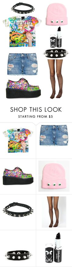 """""""Grunge/Pastel Goth maybe? Dunno."""" by ofmiceandvampiraydg ❤ liked on Polyvore featuring MANGO, Paul Frank and ASOS"""
