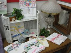 Pineapple House Antiques - Vintage Assorted Embroidered & Cross-Stitch Pillowcases