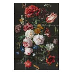 IXXI De Heem Stilleven Met Bloemen Wandsysteem 80 x 120