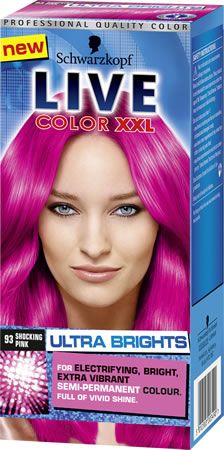 Schwarzkopf Live Color XXL Ultra Brights Schwarzkopf Live Color XXL Ultra Brights Shocking Pink: Express Chemist offer fast delivery and friendly, reliable service. Buy Schwarzkopf Live Color XXL Ultra Brights Shocking Pink online from Expre http://www.MightGet.com/january-2017-11/schwarzkopf-live-color-xxl-ultra-brights.asp