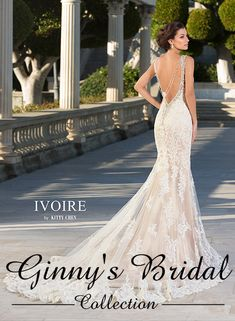 Ivoire by Kitty Chen Makayla V1602 Wedding Dress, Buy Authentic Ivoire by Kitty Chen Wedding Dresses Online   Ginnys Bridal Collection