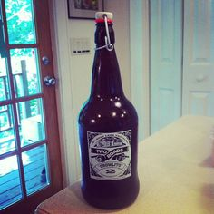 """Two Roads beer growler """"growlito"""""""