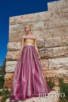 JulyTwo is proud to invite you to the world of High-End fashion, both within the Couture and the Ready To Wear world.  Established in Athens Greece in 2008, JulyTwo is a creation of pure inspiration, empowered by the beauty and culture of the Mediterranean, with its fine and elegant notes of ever changing seasons and beauty. All of this passion is reflected individual to each piece of clothing resulting in stunning one of a kind creations.