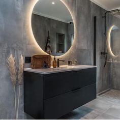 Decoration, Bathroom Lighting, Mirror, Exterior, Furniture, Instagram, Home Decor, Ideas, Bathrooms
