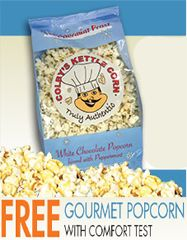 FREE Gourmet Popcorn at RC Willey Stores on http://hunt4freebies.com