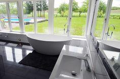 freistehende Badewanne BW-03 XL aus Mineralguss