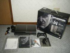 Used HAGANE METAL GEAR SOLID 4 PREMIUM PACK Playstation 3 limited edition 376 #Konami