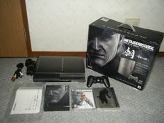 Used HAGANE METAL GEAR SOLID 4 PREMIUM PACK Playstation 3 limited edition 376 #Konami
