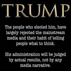 Smart People!! The people that listen and believe the lies of the MSM love the drama and don't want to be informed!
