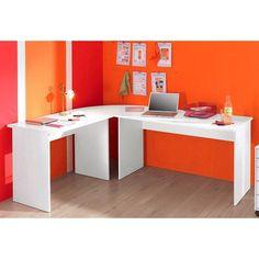 Fabriquer un bureau d 39 angle dans le bureau pinterest for Meuble d angle bureautique