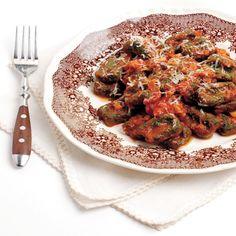 Ricetta Strangolapreti agli spinaci