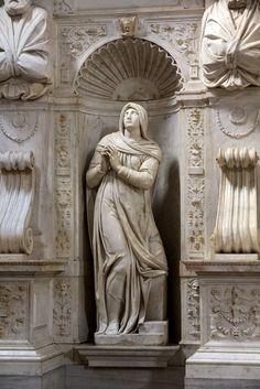 """""""Rachele"""" 1542  Dimension: 280 cm  Basilica di San Pietro in Vincoli, Roma"""