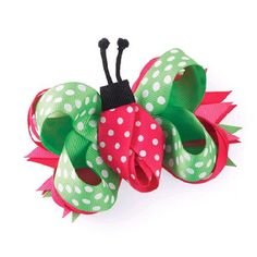 Mud Pie Lady Bug 3 in 1 hair bow. Mud Pie Lady Bug 3 in 1 hair bow. See More Hair Bows at http://www.ourgreatshop.com/Hair-Bows-C206.aspx