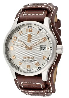 Price:$119.00 #watches Invicta 12552, The Invicta makes a bold statement with its intricate detail and design, personifying a gallant structure. It's the fine art of making timepieces.