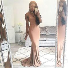 Just a Little Throwback Thursday 💃🏾 ______________________________________________________    #wedding wedding #weddingguest #nigerianwedding #houseofcb #stylist #nudedress #blogger #bloggers #asseenonme #london #ootd #ootn