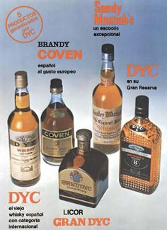 Publicidad Taurina años 80. DYC