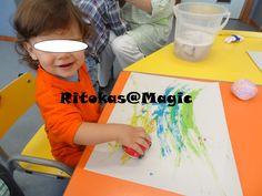 Pintura com carrinhos