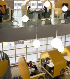 Coventry University in the UK - studying area