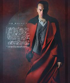 Jim Moriarty. This. Looks. So great.