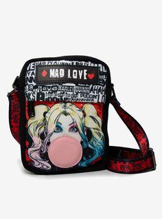 Cute Crossbody Bags, Crossbody Wallet, Harley Quinn Tattoo, Daddys Little Monster, Cute Mini Backpacks, Disney Purse, Custom Starbucks Cup, Harley Quinn Cosplay, New Bag