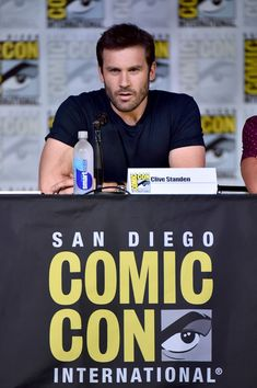 Actor Clive Standen attends the Entertainment Weekly: Brave New Warriors event during Comic-Con International 2016  at San Diego Convention Center on July 22, 2016 in San Diego, California. - Comic-Con International 2016 -  Entertainment Weekly: Brave New Warriors