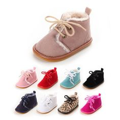 Baby Fleece Lined Boots