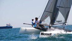 Este fin de semana no te pierdas lasligas de patín a vela y catamarán aguas de la Bahía de Cádiz  http://www.fusionyachts.com/blog/?p=347