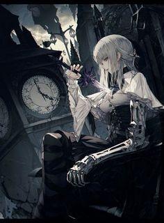 Anime, manga, and video game fan-art artworks from Pixiv (ピクシブ) — a Japanese online community for artists. Anime Art Fantasy, Fantasy Girl, 3d Fantasy, Anime Art Girl, Manga Art, Manga Anime, Anime Girls, Dark Anime, Cosplay Games