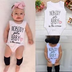 Newborn Baby Girls Boys Cotton Bodysuit Rompers Jumpsuit Playsuit Outfit Clothes